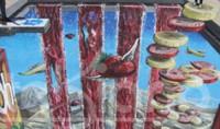Joe Hill, le recordman du graffiti en 3d en Tunisie avec une oeuvre