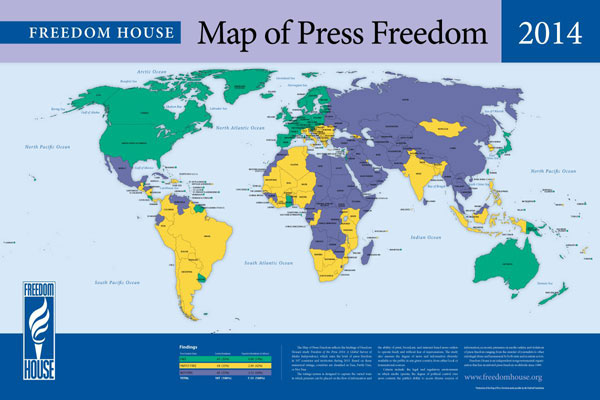 map-freedom-house-2014
