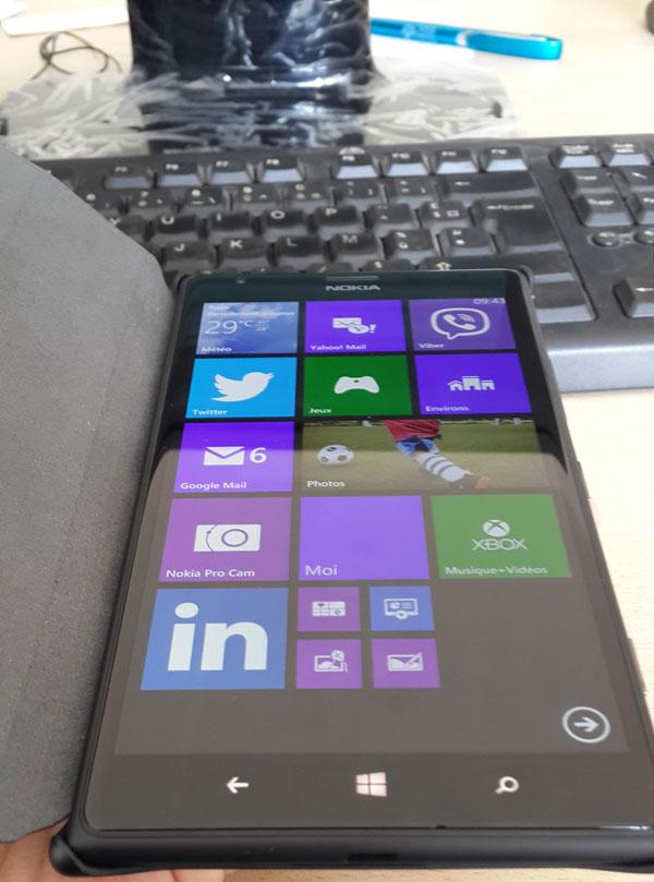 Test : Nokia Lumia 1520, une phablet professionnelle sur ...