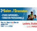 3ème salon de l'orientation spécial lycéens et étudiants du 18 au 20 avril à L'UTICA