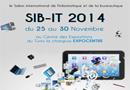 Tunisie : SIB IT 2014 : Du 25 au 30 Novembre au Centre des expositions de la Charguia