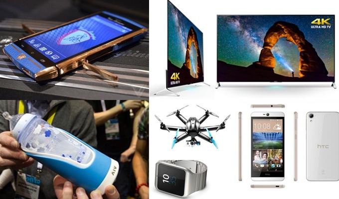 Ces las vegas 2015 les principales nouveaut s en photo - Salon des nouvelles technologies las vegas ...