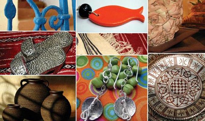L 39 artisanat tunisien s 39 exporte au salon de la d coration for Salon artisanat a ballancourt sur essonne