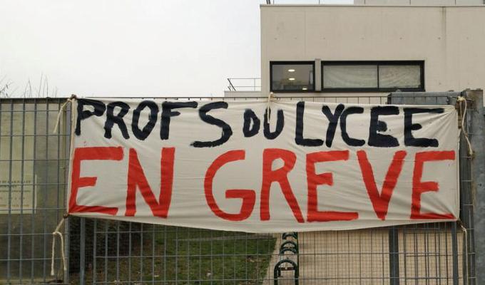 tunisie-greve-profs-lycee
