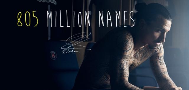 million names zlatan