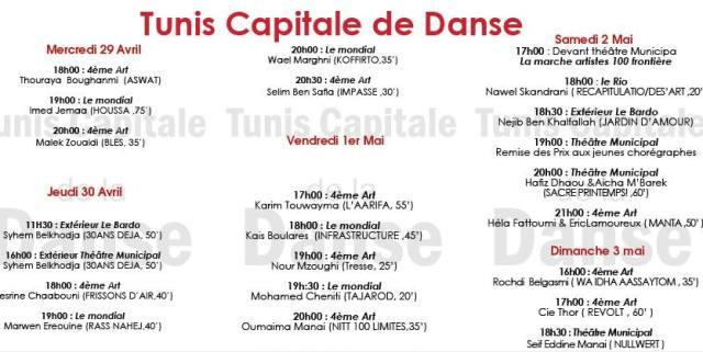 tunis capital danse