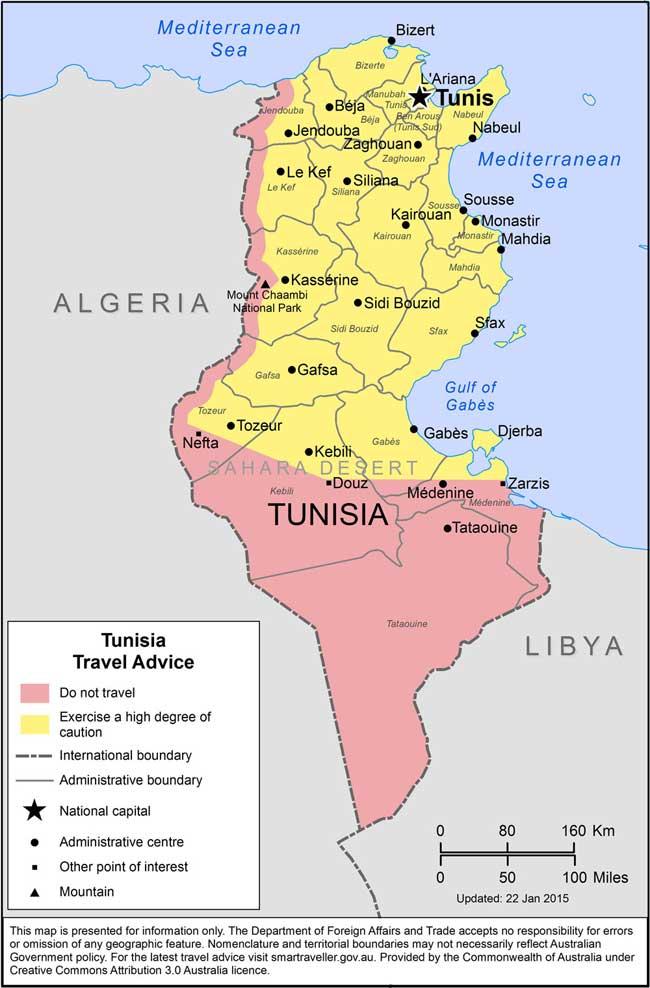 Tunisia-carte-geo-australie