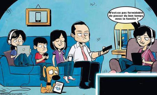 famille addiction
