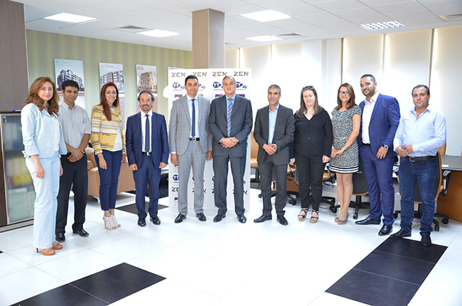 Accord de partenariat entre tunisie t l com et zen for Meuble zouari