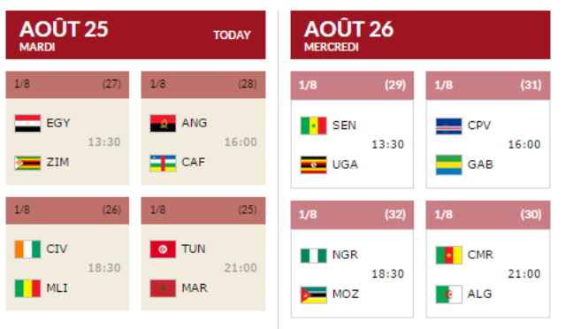 matchs 26 27 afrobasket