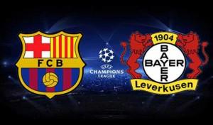 Barcelone-vs-Bayer-Leverkusen