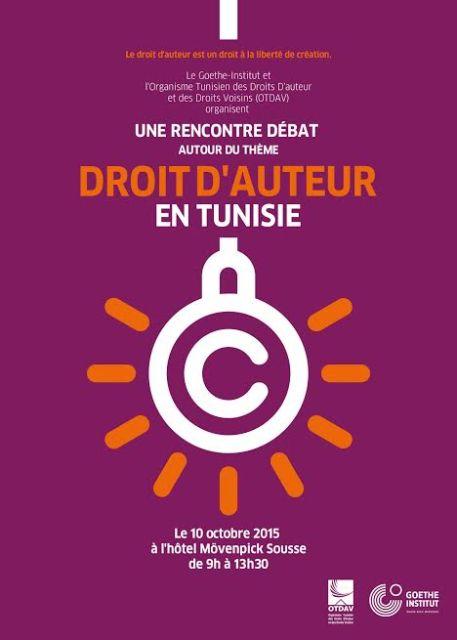 droit auteur tunisie