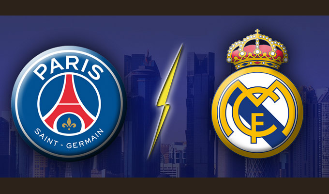 Real Madrid PSG Streaming / Ligue des champions