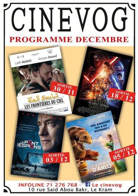 cinevog programme décembre