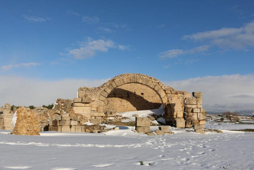 Le Capitole sous la neige makthar