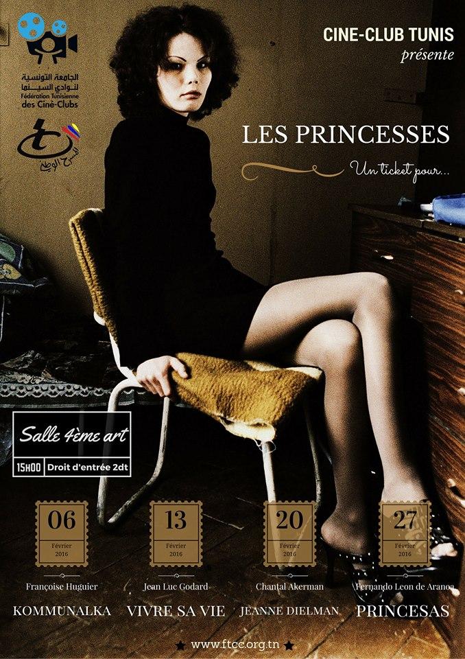 ciné club affiche princesses