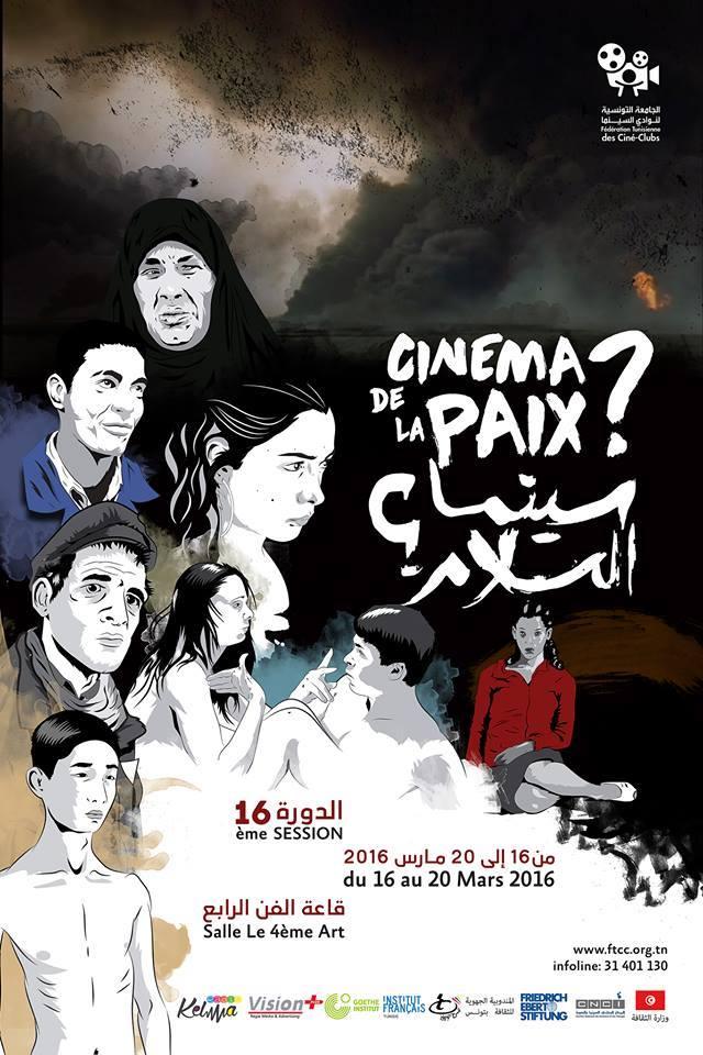 affiche festival cinéma de la paix