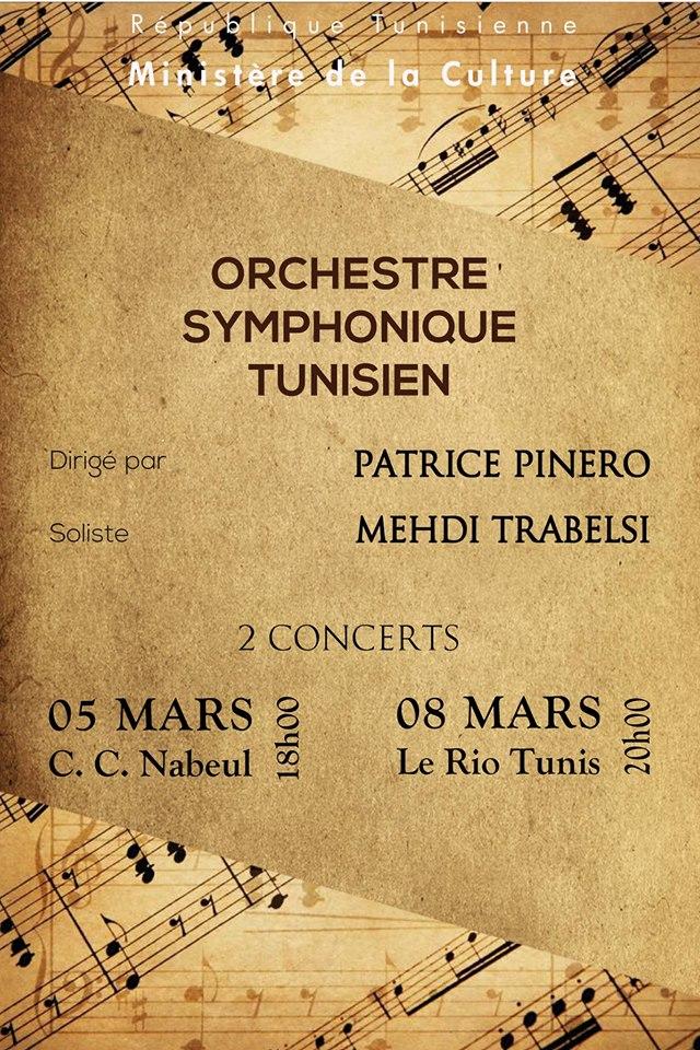 concert orchestre symphonique tn mars
