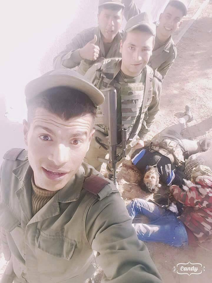 selfie soldats