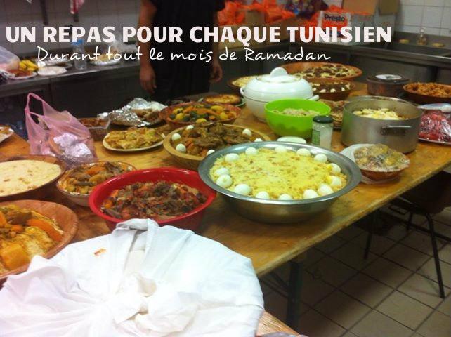 un repas pour chaque tunisien ramadan