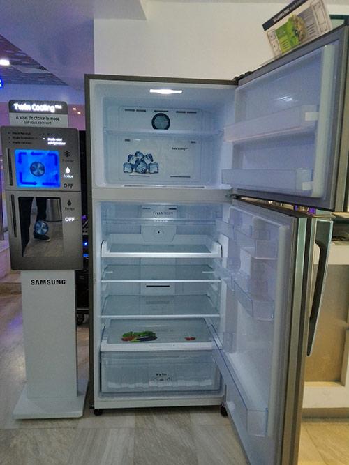 refrigerateur samsung twin cooling table de cuisine. Black Bedroom Furniture Sets. Home Design Ideas