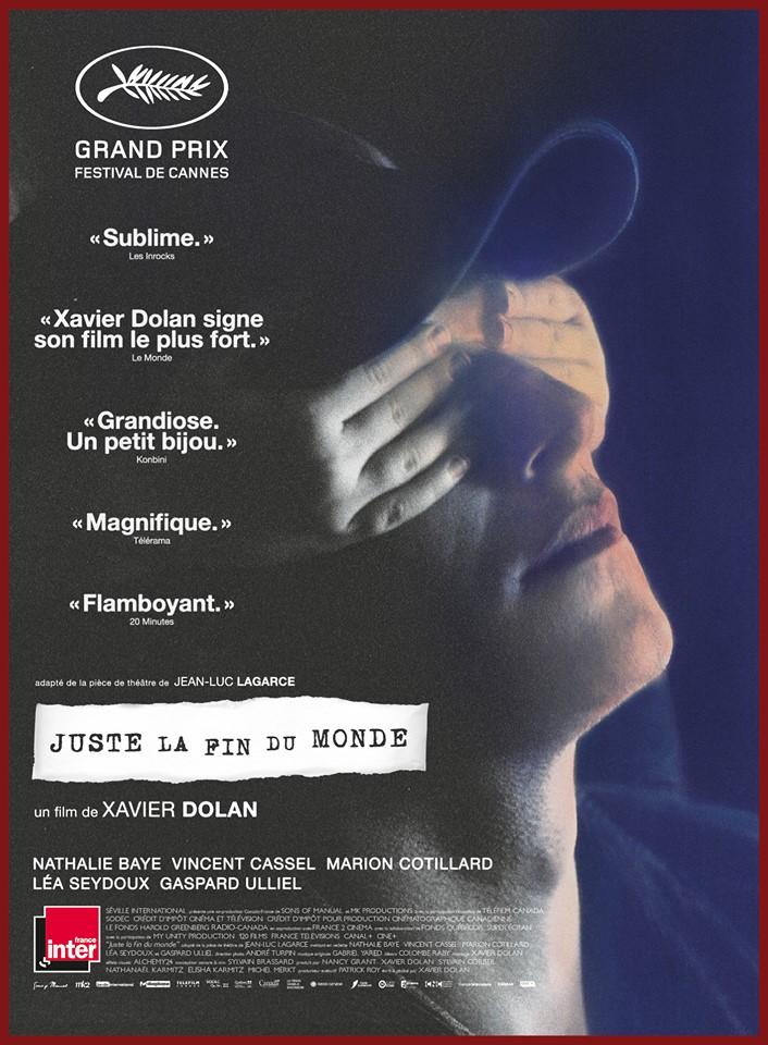 JUSTE LA FIN DU MONDE film