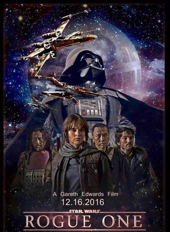 star wars rogue one affiche