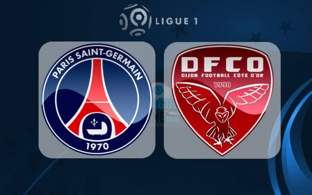 dijon vs psg live streaming