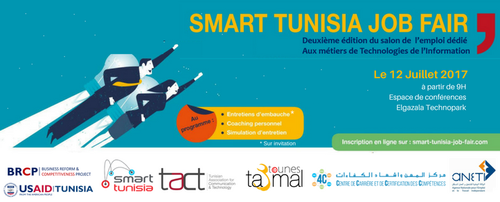 salon de l u0026 39 emploi smart tunisia job fair mercredi 12