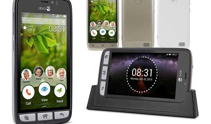 Le Smartphone Des Seniors Doro 8031 Disponible Chez Orange Tunisie
