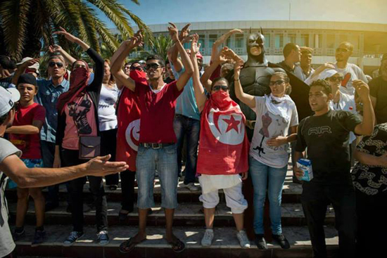 batman-manif-tunisie