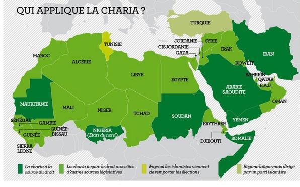 Vivre dans l'état islamique sous la charia  - Page 4 Carte-chariaa-010412