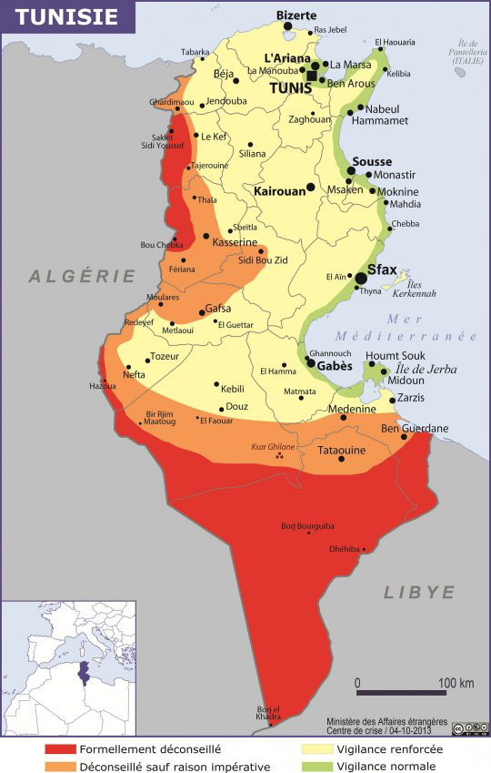 carte-de-risque-tunisie