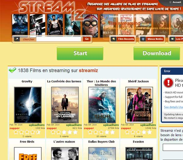 Une rencontre film streaming vk