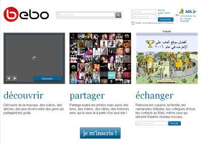 Site de rencontres Bebo