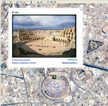 Une Carte Au Tresor En Allemand.Google Earth Les Tresors Caches De La Tunisie Tekiano
