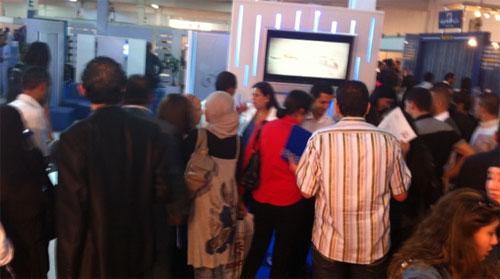 Tunisie : Télécoms recrutent au salon de l'emploi   Tekiano :: TeK'n on