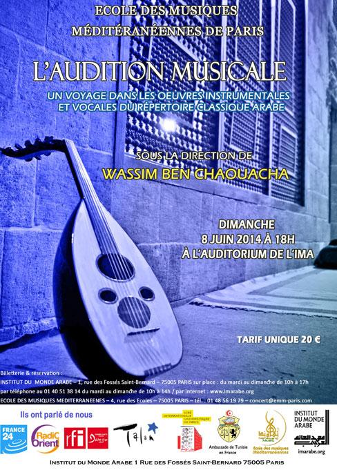 L'audition Musicale» sous la direction de Wassim Ben