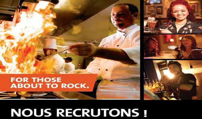 hard rock caf u00e9 recrute en tunisie