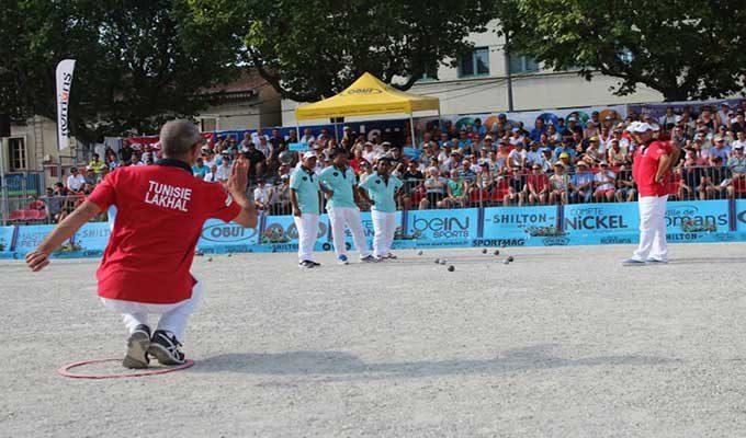 Championnat du monde de p tanque la tunisie remporte la for Championnat du monde de boules carrees