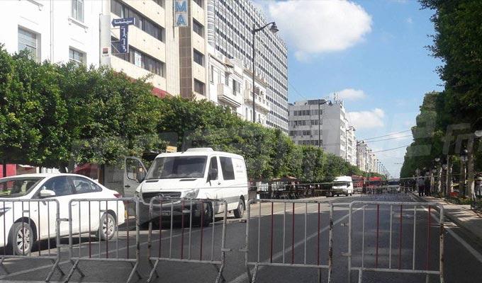 Tunisie Decouverte D Un Sac Suspect A L Avenue Habib