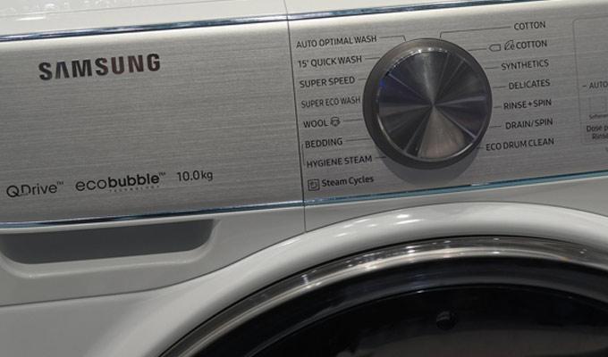 4 mythes bris s par la machine laver samsung quickdrive for Machine pour laver le carrelage