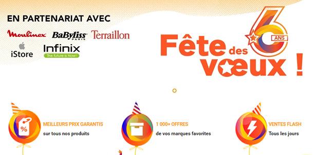 Jumia Lance La Fête Des Vœux à Loccasion De Son 6ème Anniversaire