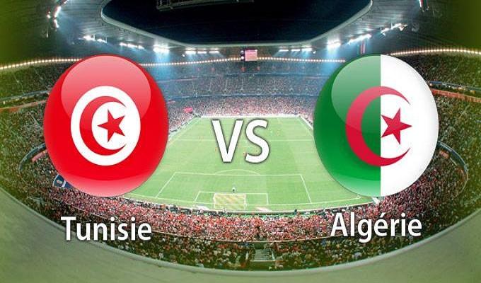 Algérie - Tunisie: regardez le match en direct